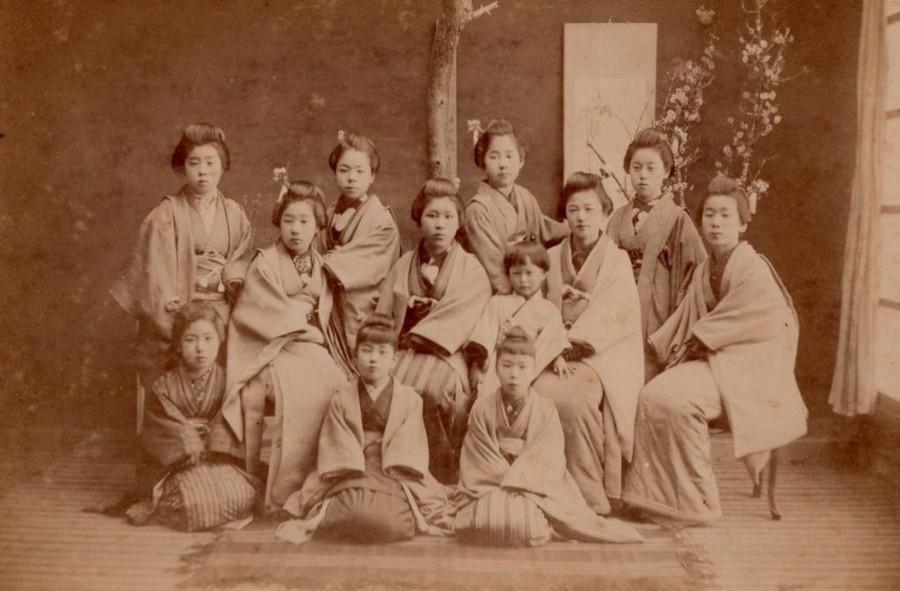 明治時代の女性の写真1