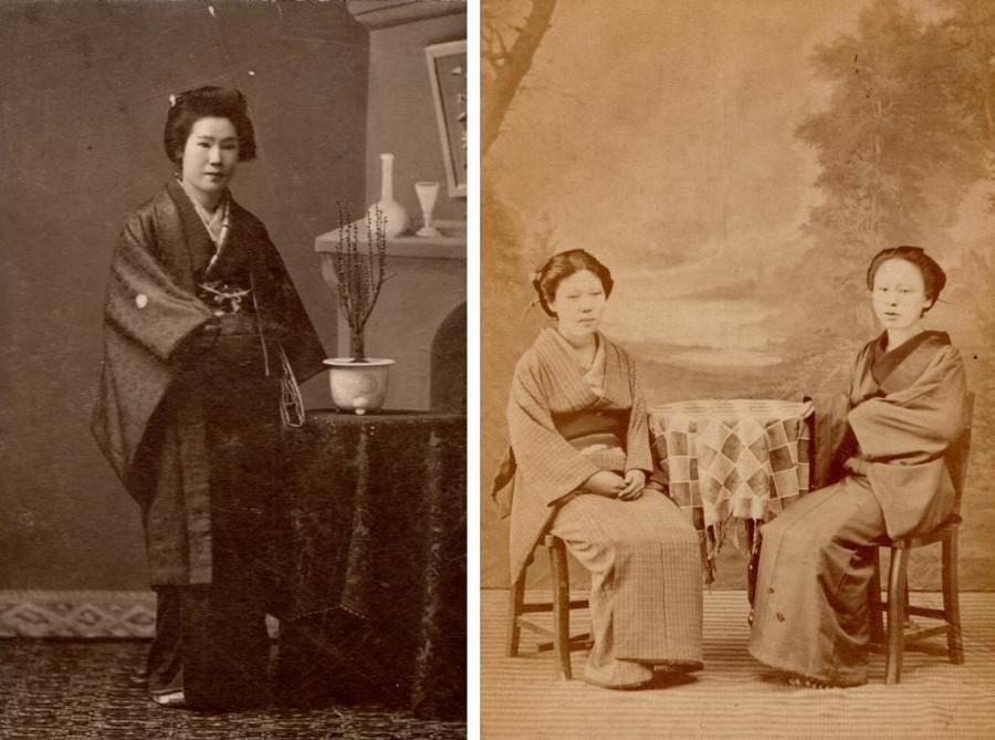 明治時代の女性の写真2