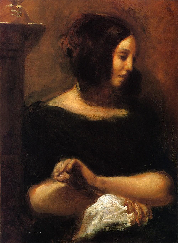 ジョルジュ・サンドの肖像画