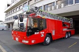 35mはしご付消防ポンプ自動車