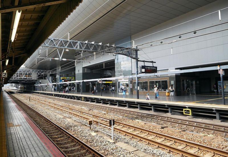 京都駅の日本一長いホーム