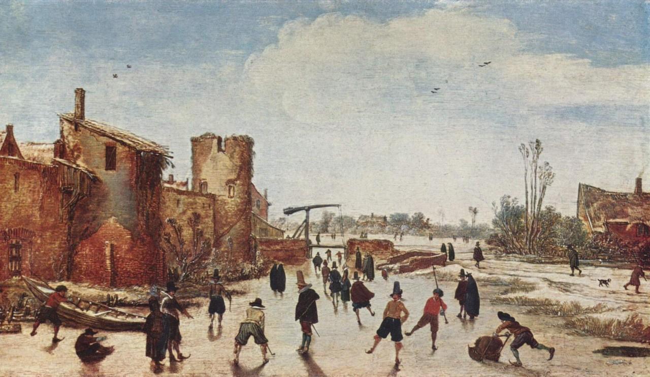 スケートの起源