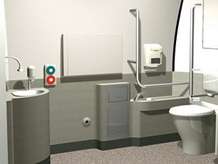 新幹線のトイレ