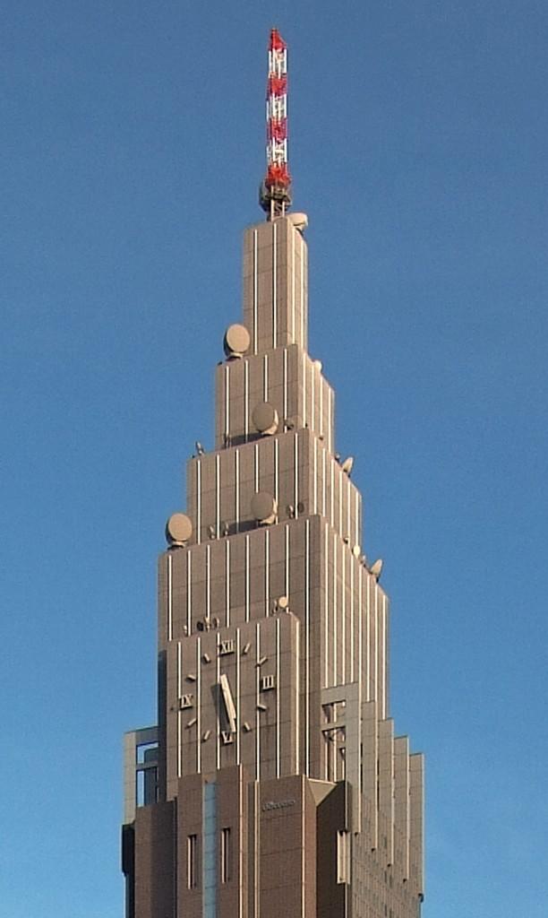 NTTドコモ代々木ビル(上層部)