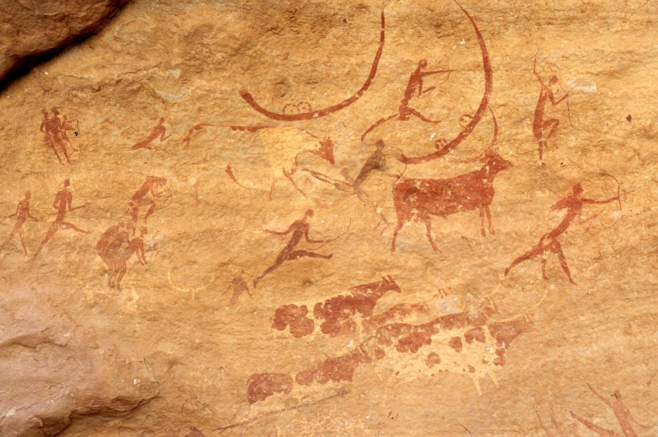タッシリ・ナジェールの洞窟壁画