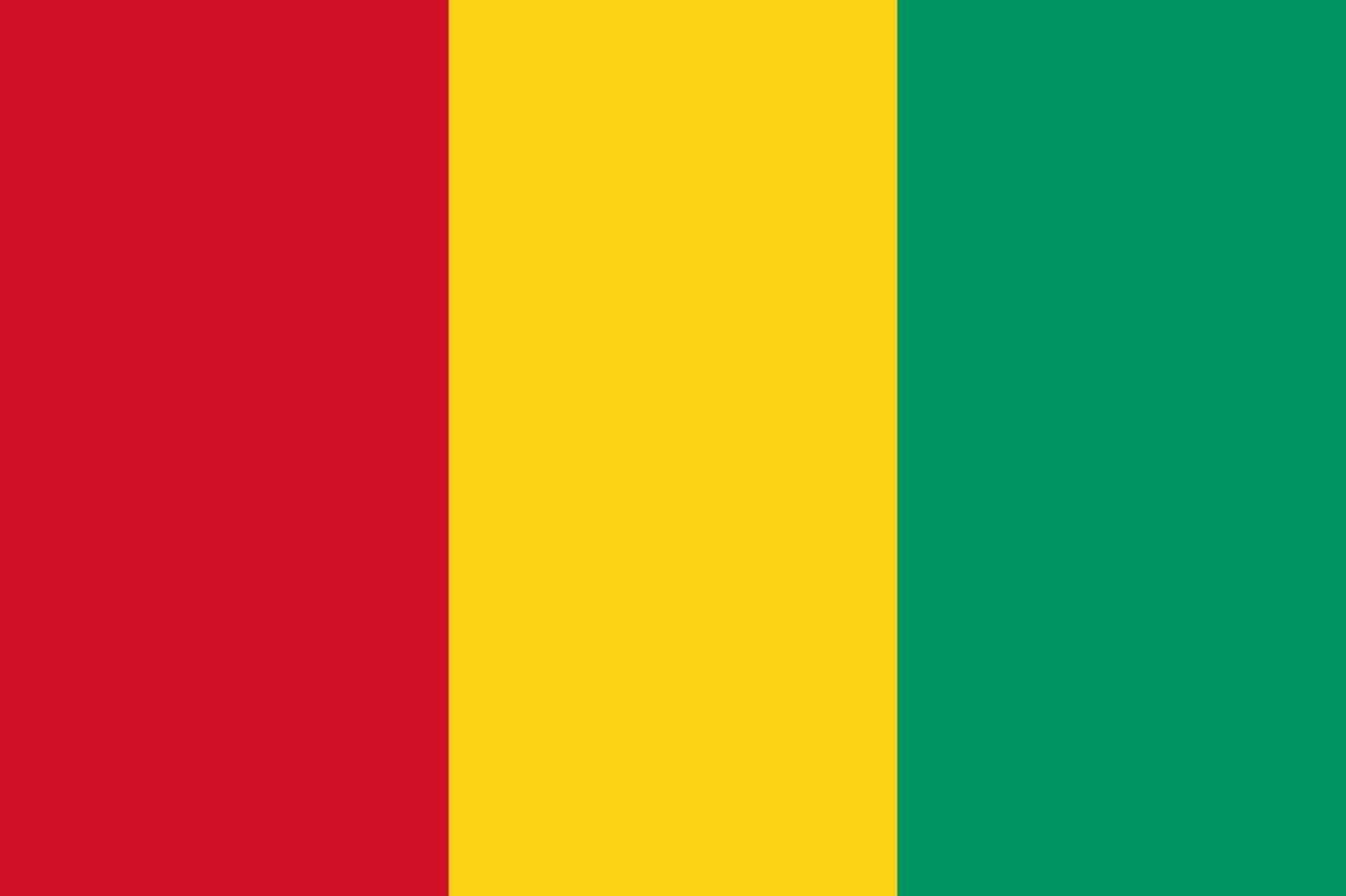 ギニアの国旗