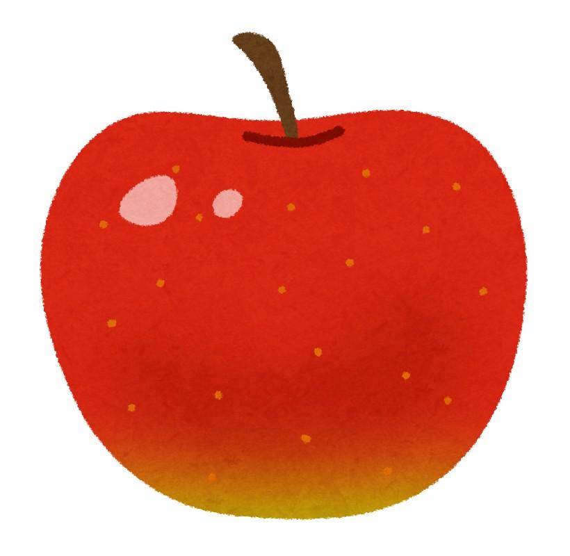 赤色のリンゴ