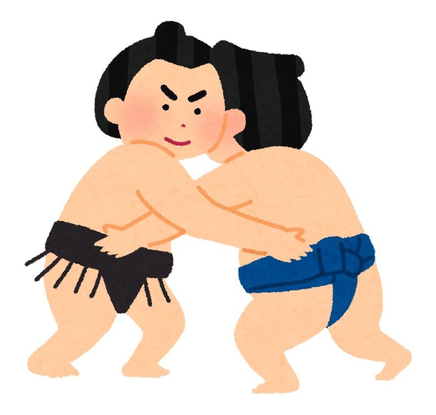 相撲の取組