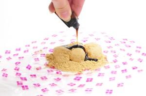桔梗信玄餅の食べ方
