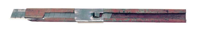 世界最初の折る刃式カッターナイフ「オルファ第1号」