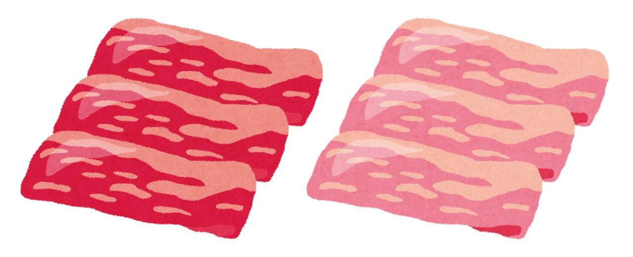 牛肉と豚肉