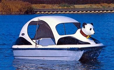 足漕ぎボート(パンダ)