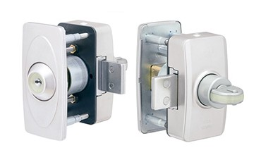 1ドア2ロック用の補助錠