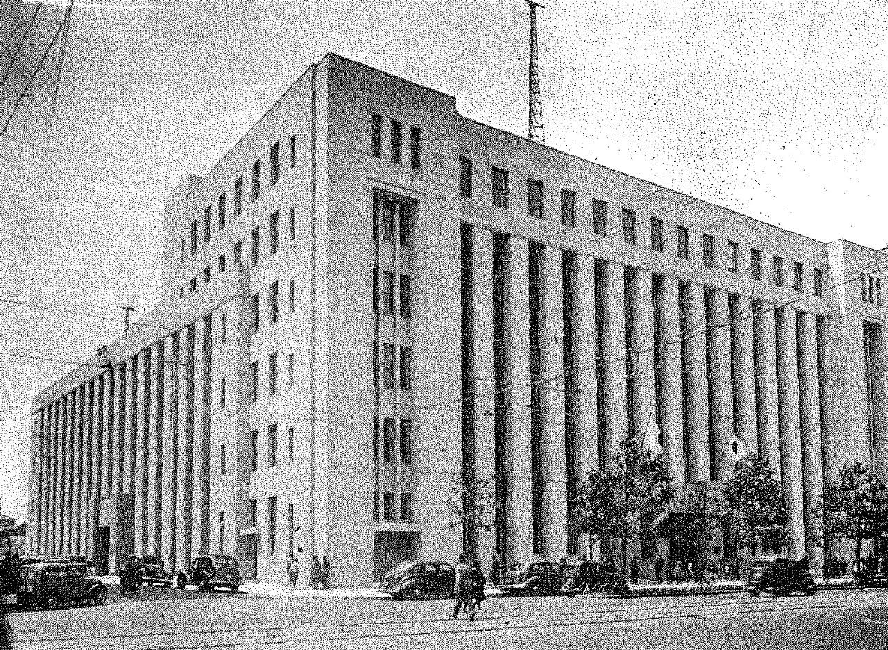 当時の東京放送会館