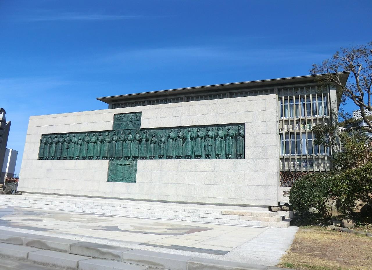 記念碑「昇天のいのり」