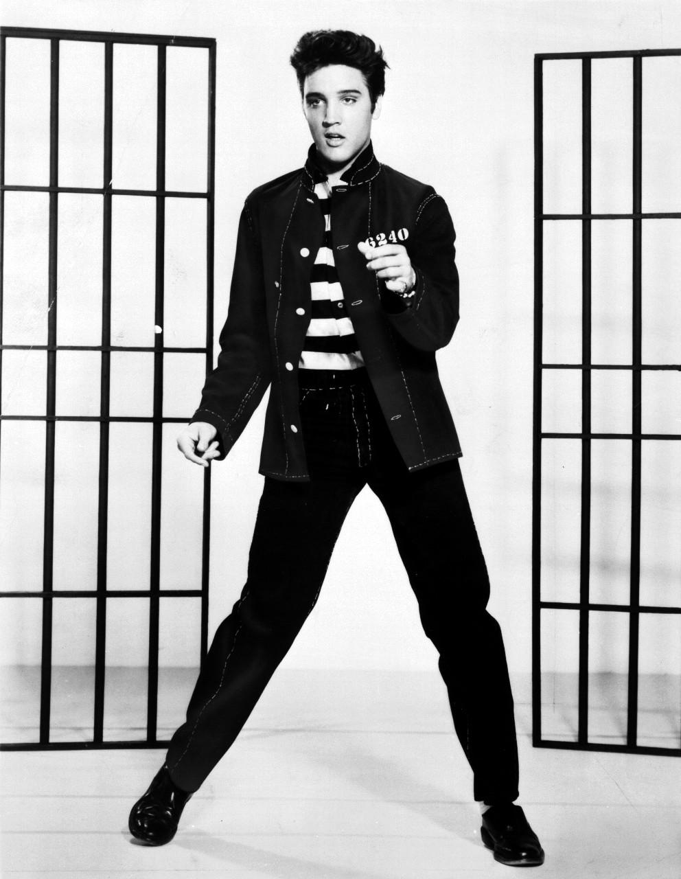 エルヴィス・プレスリー(1957年の映画『監獄ロック』)