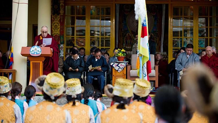 ダライ・ラマ法王(チベット民族平和蜂起52周年記念日)
