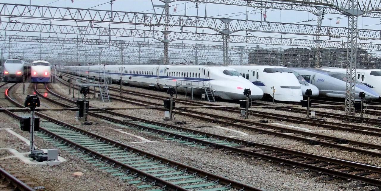 東海道・山陽新幹線歴代車両