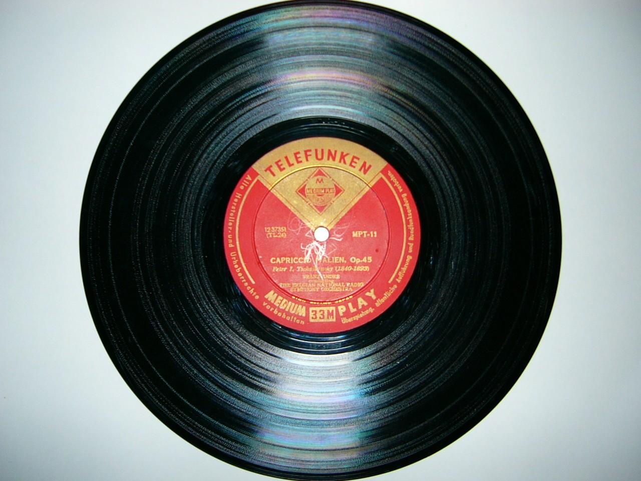 LPレコード(25cm)
