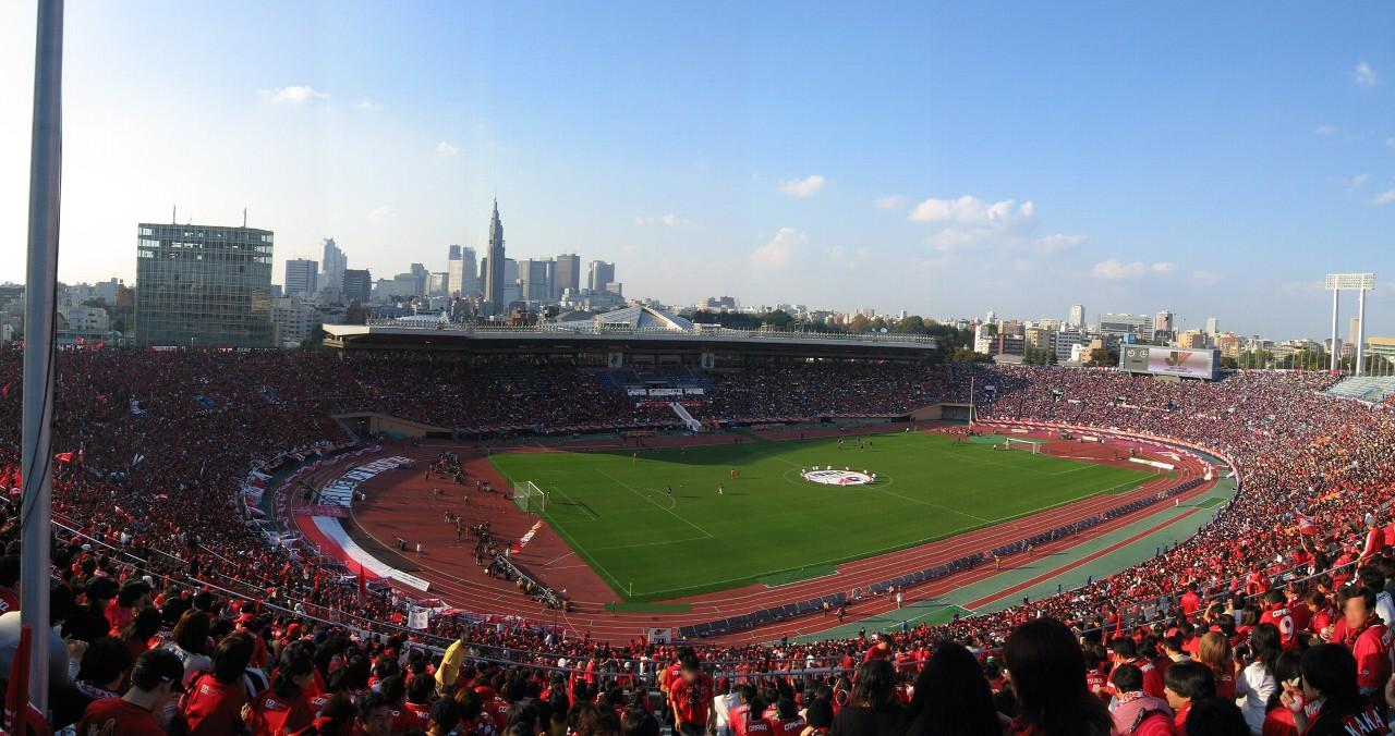 国立霞ヶ丘陸上競技場(2004年)