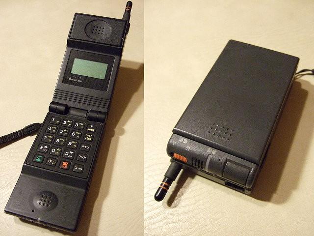 ムーバN(TZ-804)改良版 NEC製