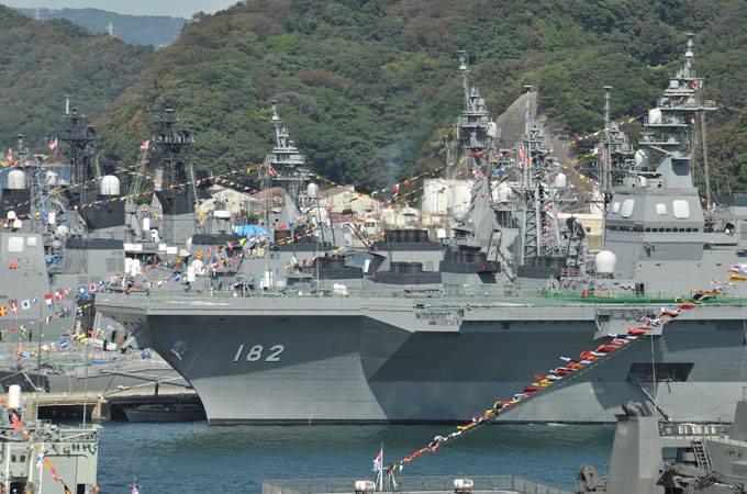 海上自衛隊の日