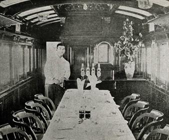 山陽鉄道 食堂車