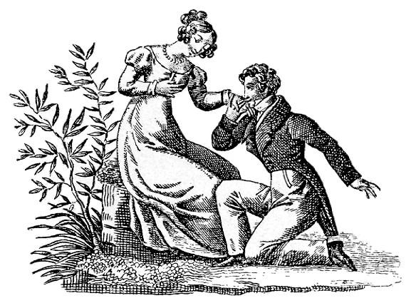 古典的なプロポーズ