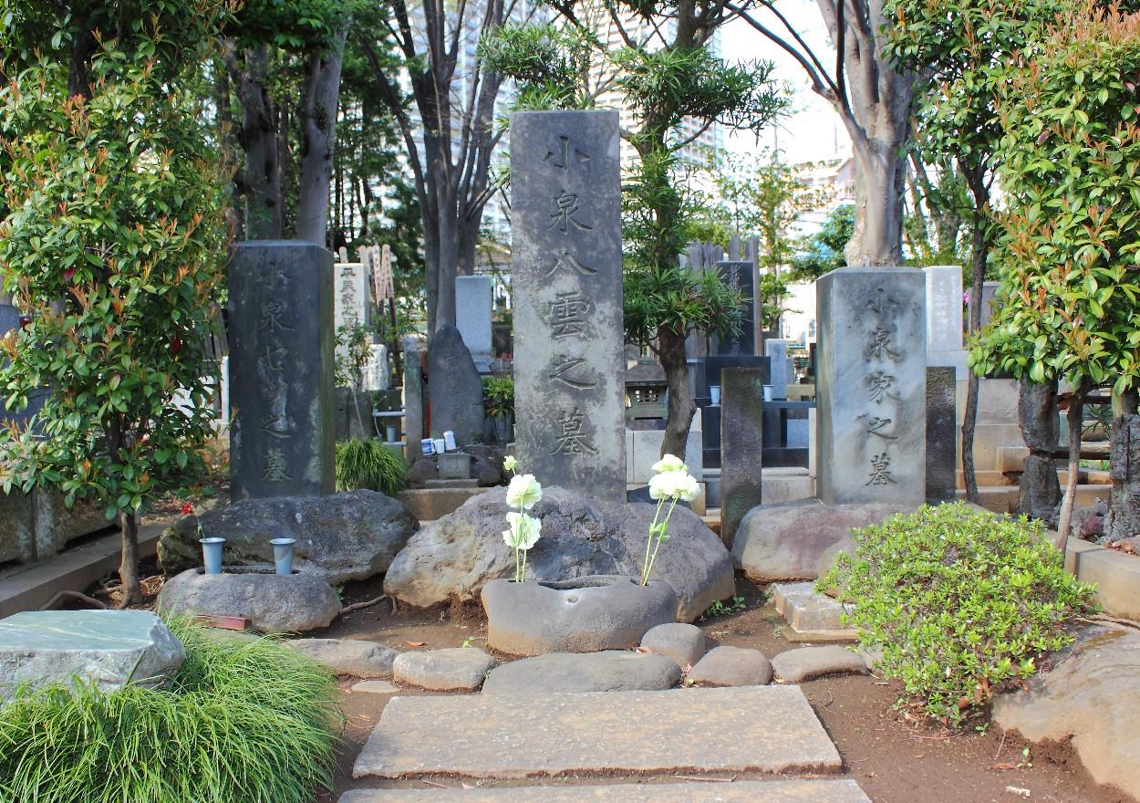 小泉八雲の墓
