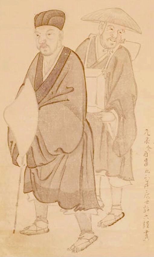 松尾芭蕉と河合曾良
