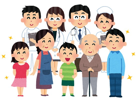 医療従事者と患者