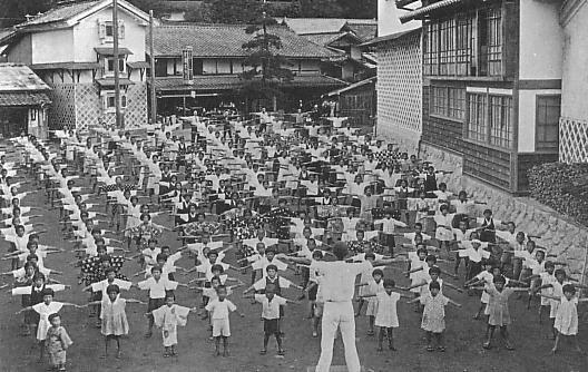 戦前のラジオ体操