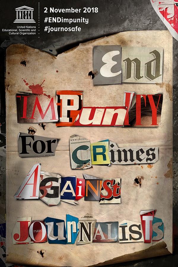 ジャーナリストへの犯罪不処罰をなくす国際デー