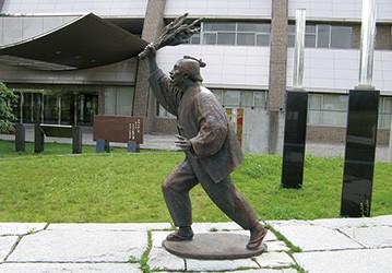 濱口梧陵の銅像