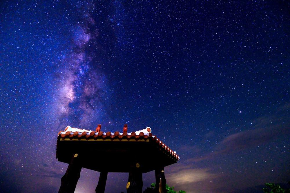 石垣島の夜空