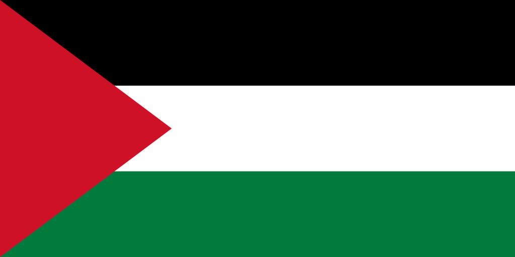 パレスチナ国の国旗