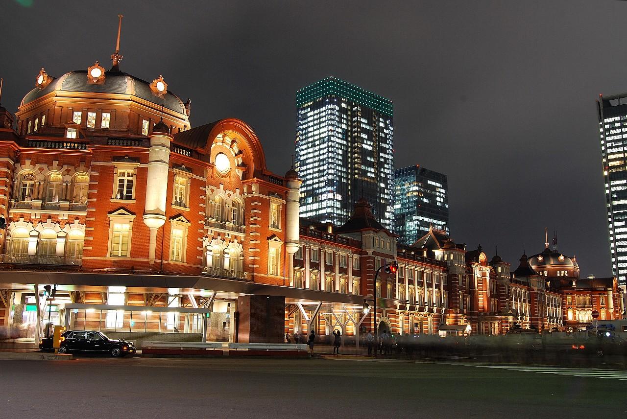 東京駅(丸の内駅舎、2012年10月)